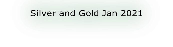 Silver and Gold Jan 2021